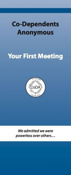 *NEW* Your First Meeting (Pamphlet - 5 pack) 4-fold